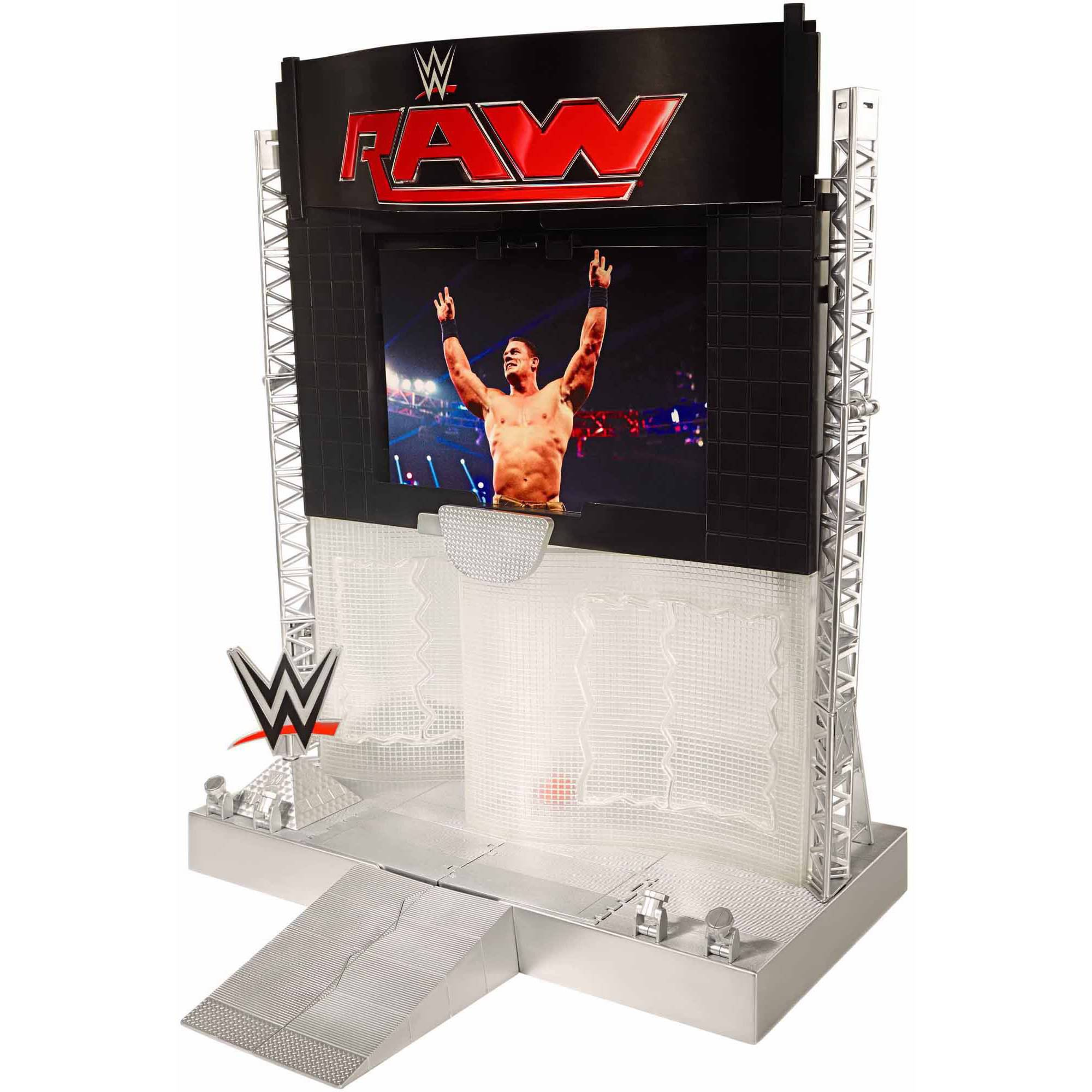 WWE Electronic Ultimate Entrance Stage Playset