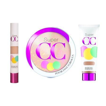 Physicians Formula Super CC Color-Correction + Care Makeup, - 10 Cc Control