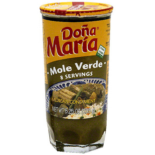 Dona Maria Mole Verde Sauce, 8.25 oz (Pack of 12)