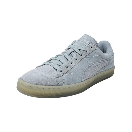 33f6022847d0 Puma Men s V2 Pink Dolphin Ether   Caramel Cream Ankle-High Suede ...