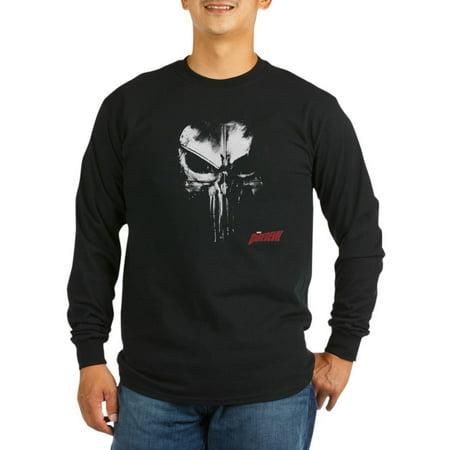 Punisher T Shirt (CafePress - Netflix Punisher Skull Long Sleeve Dark T Shirt - Long Sleeve Dark)
