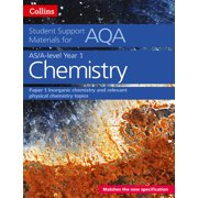 Collins Student Support Materials for AQA – A Level/AS Chemistry Support Materials year 1, Inorganic Chemistry and Relevant Physical Chemistry Topics