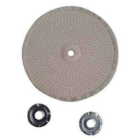 Buffing Wheel,Spiral Sewn,4 In Dia. ZORO SELECT 12U081