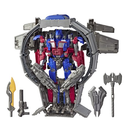 Transformers Toys Studio Series 44 Leader Class Transformers: Dark of the Moon movie Optimus Prime Action Figure - Kids Ages 8 and Up, 8.5-inch (Transformers The Ultimate Battle)