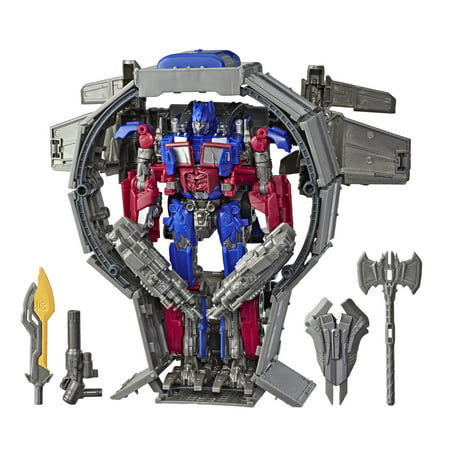 Transformers Toys Studio Series 44 Leader Class Transformers: Dark of the Moon movie Optimus Prime Action Figure - Kids Ages 8 and Up, 8.5-inch](Optimus Prime Mask)