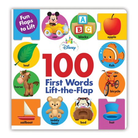 Disney 100 First Words Lift The Flap