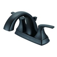 Danze Vaughn Centerset Bathroom Faucet, Satin Black