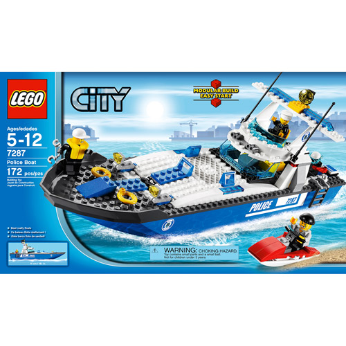 Lego City Police Boat Play Set by LEGO Systems, Inc.