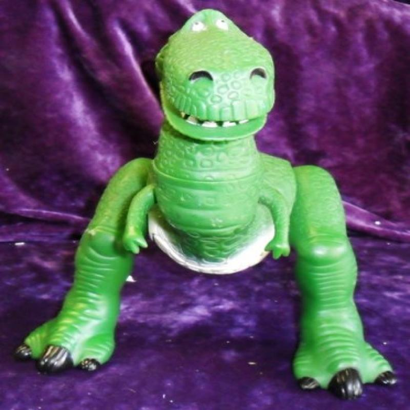 """1996 Toy Story 17"""" Electronic Talking Rex Action Figure by"""