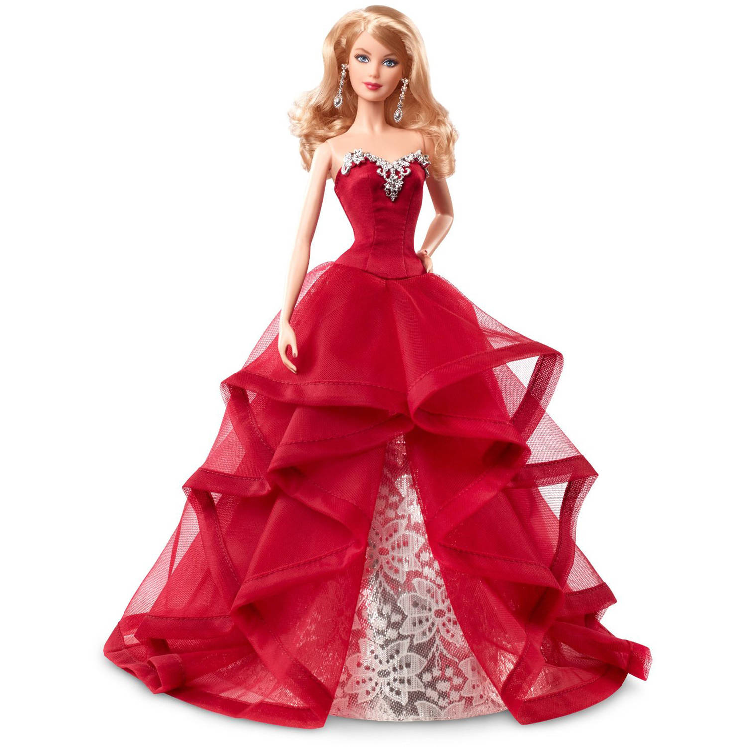 Barbie 2015 Holiday Barbie - Walmart.com