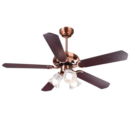 Yescom 48 Quot 52inches 5 Blades Ceiling Fan With Light Kit