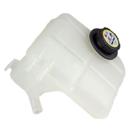 Coolant Tank - Coolant Overflow Tank Recovery Bottle Expansion Reservoir with Cap Replacement for Ford 5S4Z8A080AA