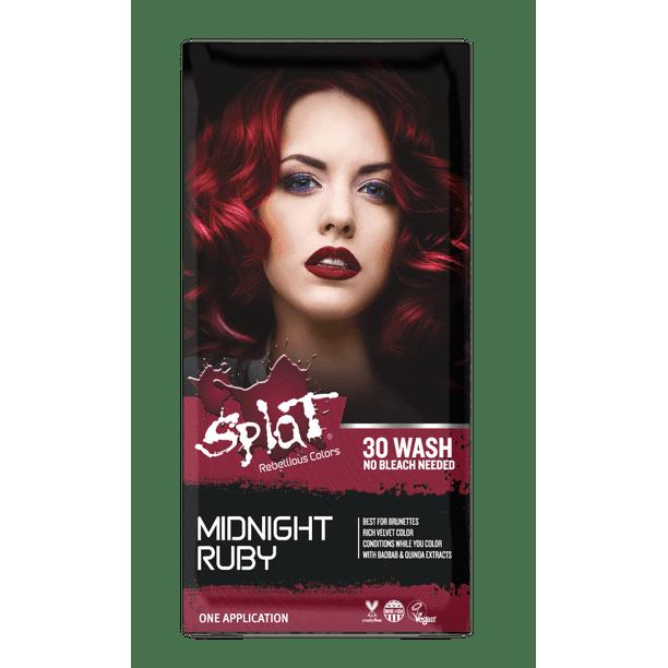 Splat Midnight Ruby Hair Dye Semi