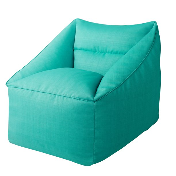 Better Homes & Gardens Dream Bean Patio Bean Bag Chair, Turquoise