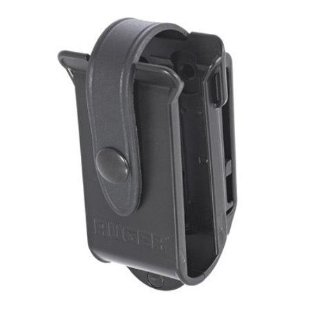 Ruger Polymer Magazine Pouch  Black  Holds 2 Bx 10Rd Ruger 10 22 Magazines  W Belt Clip 90437