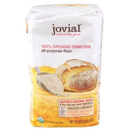 - Jovial 100% Organic Einkorn All Purpose Flour, 32 Oz