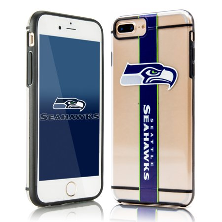 detailed look 729d3 c60b2 SEATTLE SEAHAWKS IPHONE 8 PLUS, HYDROCLEAR SMU 3D PRINT IPHONE 8 PLUS COVER  CASE