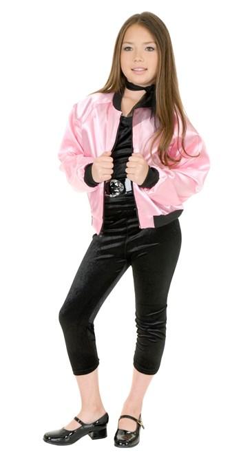 Pink Charades Womens Satin Ladies Jacket X-Large