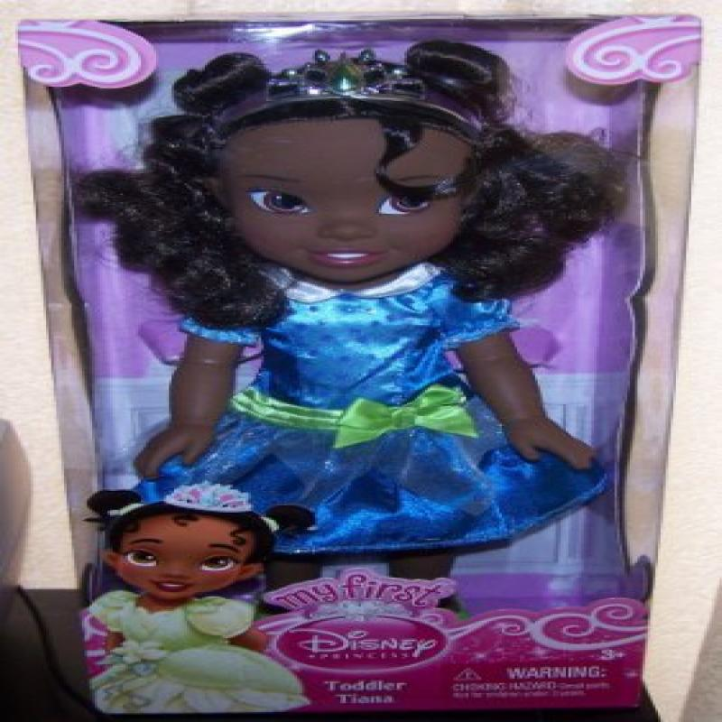 """My First Disney Princess Toddler Tiana 14""""H Doll in Blue ..."""