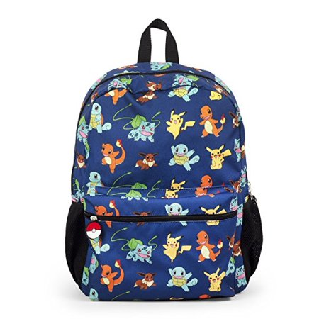 Nintendo Pokemon Pikachu and Characters Gotta Catch Em All 16 Backpack School Bag - Pikachu Girl
