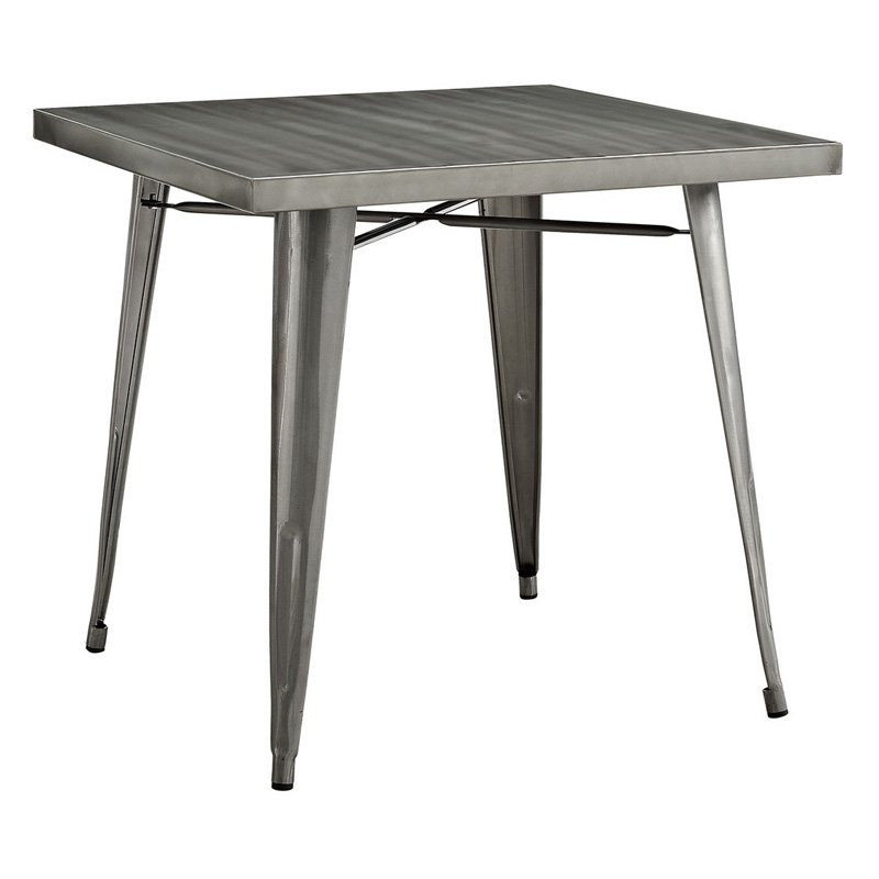 Modway Alacrity Metal Dining Table
