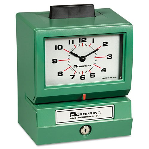 Acroprint Model 125 Time Clock Card Punch stamp 100 Employee (011070413) by Acroprint Time Recorder