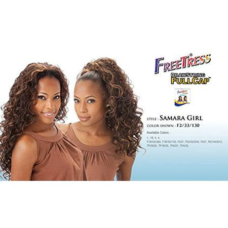 (Freetress Synthetic Fullcap Drawstring - Samara Girl - TP1B/33)