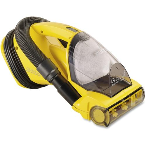 Eureka Compact Vacuum Cleaner - Bagless - 20 ft Cable Length - 5.50 A - Yellow
