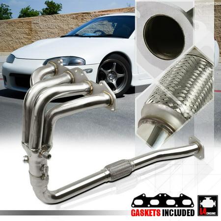 SS Exhaust Header Manifold for 95-99 Mit Eclipse/Talon 2G 420A 2.0 Non-Turbo NA 96 97 98 (Eclipse Exhaust Manifold)