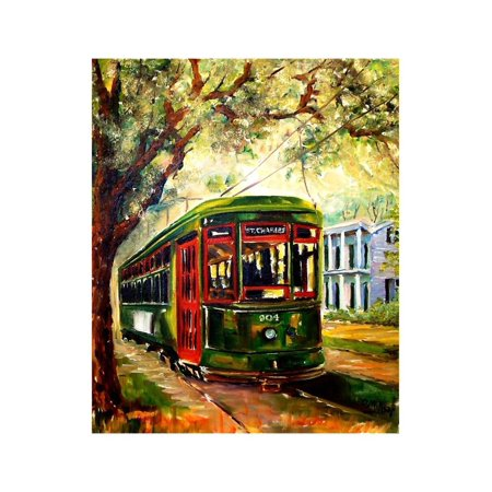 New Orleans St Charles Streetcar Print Wall Art By Diane Millsap ...