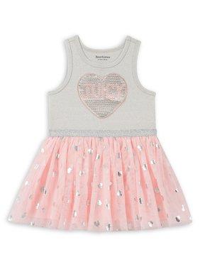 Little Girl's Sequined Tutu Dress