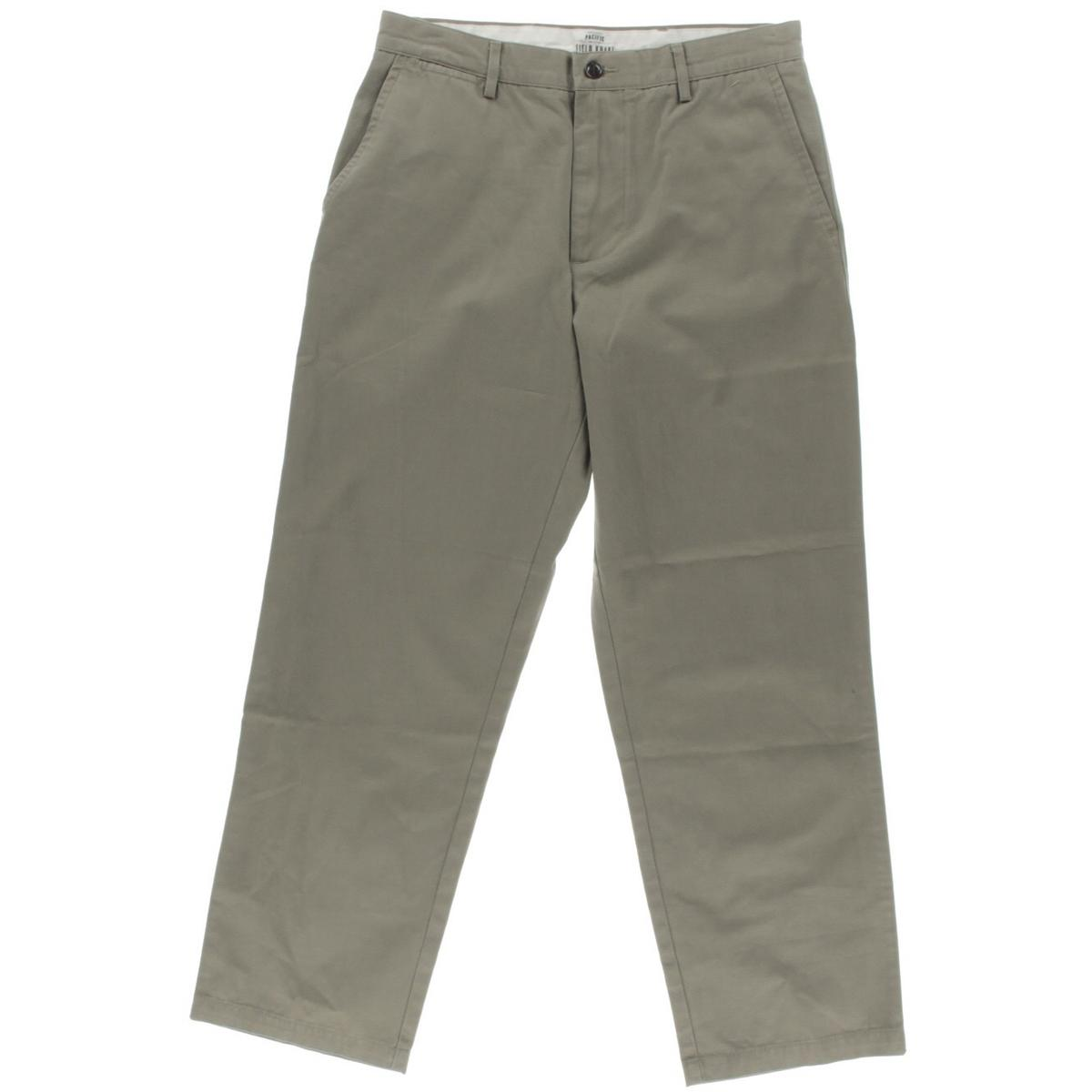 Dockers Mens Cotton Flat Front Khaki Pants by Dockers