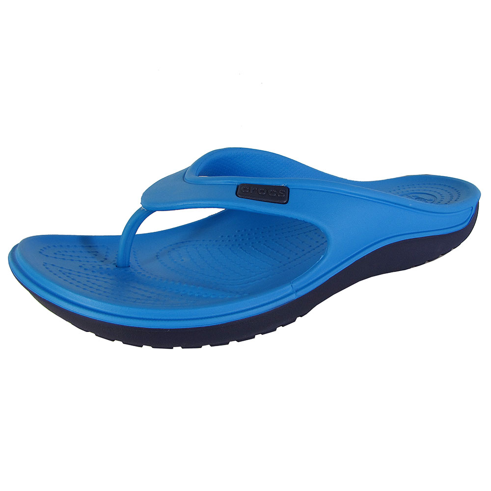 Crocs Duet Wave Flip Flops by Crocs