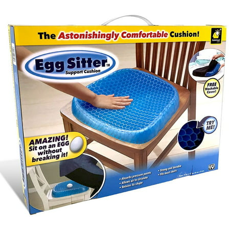 Triumph Gel Seat (Egg Sitter Gel Support Seat Cushion As Seen on)