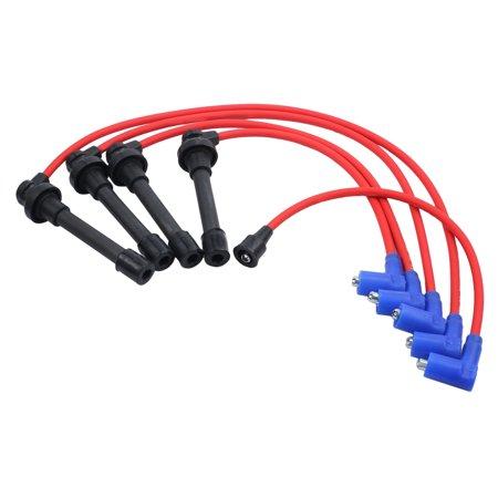ESYNIC Spark Plug Wire Set For HONDA ACCORD CIVIC DEL SOL 92-00 EG on