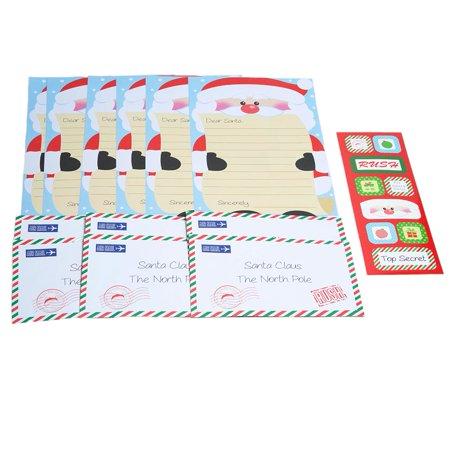 santa stationery kit walmart com