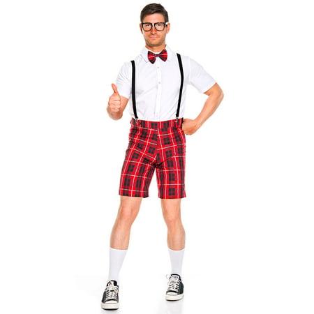 Men's Classroom Nerd Costume, Men's Nerd Costume