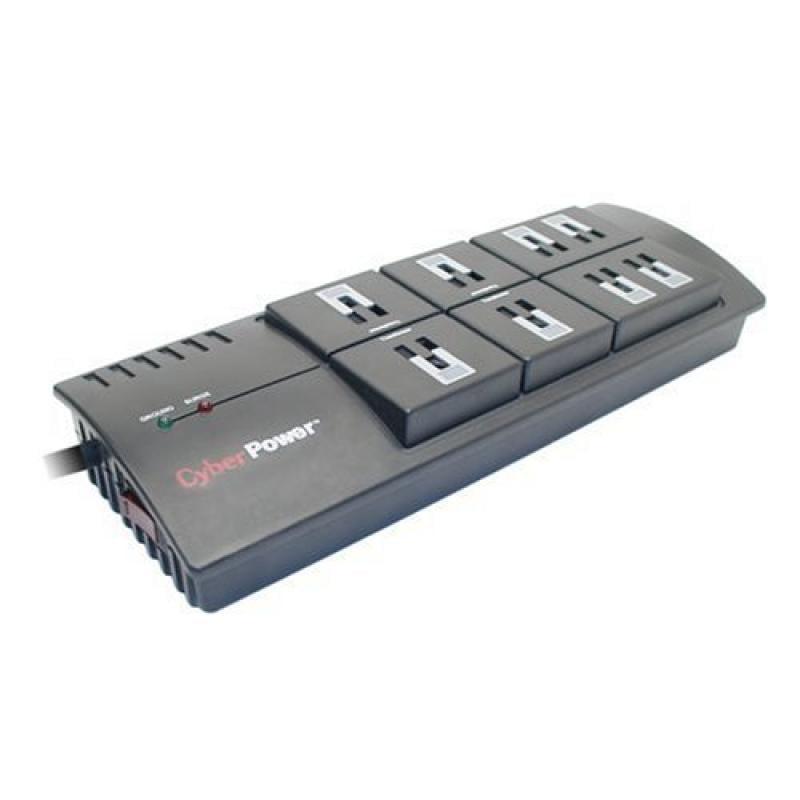 Cyberpower CSP100TW Pro Surge Protector Cpnt 1 Outlet 900j Emi//rfi Rj11 $25k