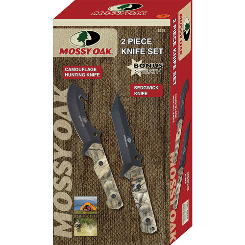 Mossy Oak Hunting 2-Knife Giftset