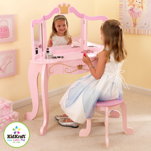 KidKraft Princess Vanity Table and Stool