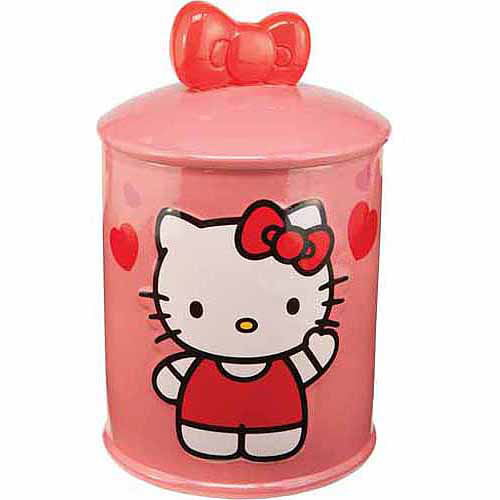 Click here to buy Vandor Hello Kitty Ceramic Cookie Jar by Vandor.