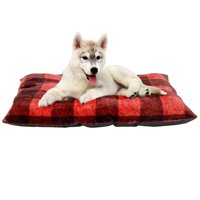 "Holiday Time Tufted Pillow Style Pet Bed, 27""x 36"""