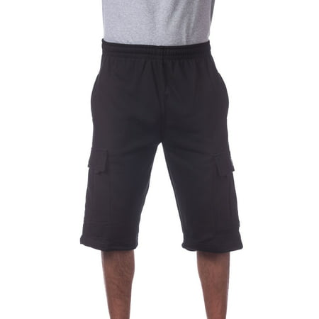Pro Club Men's Fleece Cargo Short