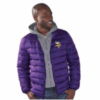 Product Image Minnesota Vikings Three Point Quilted Jacket with Detachable  Hood 237e7d361