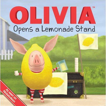 Olivia Opens a Lemonade Stand - Lemonade Stand Diy