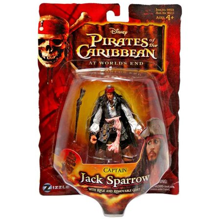 Pirates of the Caribbean Series 3 Captain Jack Sparrow Action