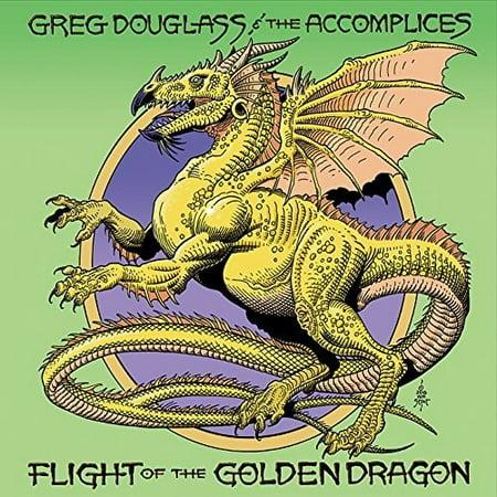 Greg Douglass   The Accomplices   Flight Of The Golden Dragon  Cd