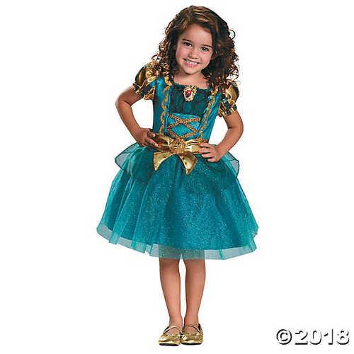Toddler Girl's Classic Brave? Merida Costume - 3T-4T