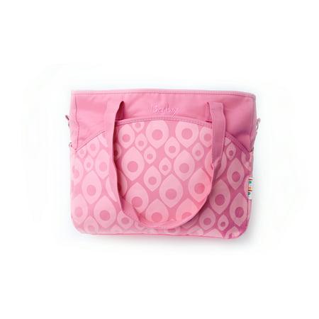 Diaper Bag Tote Pink (Girl Messenger Diaper Bag)