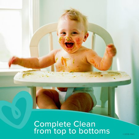 Best Pampers Complete Clean Baby Fresh Scent Baby Wipes (Choose Your Count) deal